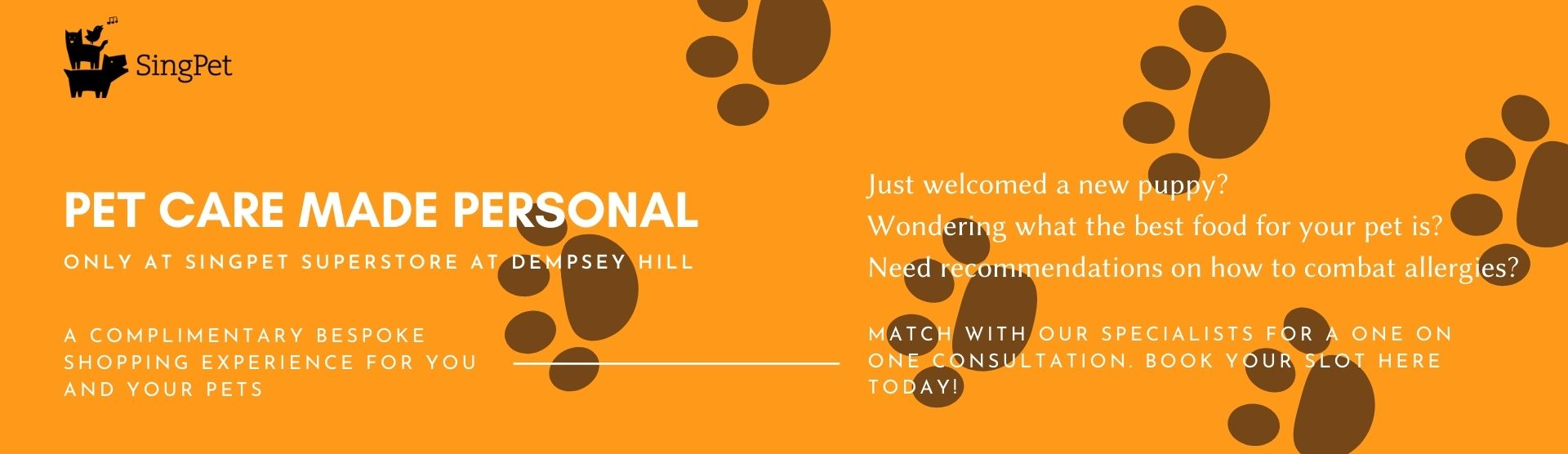 Pet care made personal
