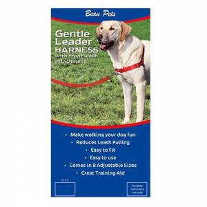 Gentle Leader Easy Walk Dog Harness-(GenEasyWalk)