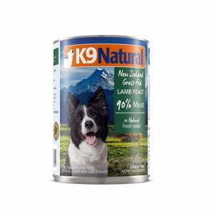 K9 Natural Lamb Feast Canned Dog Food-(D100-11018-03)