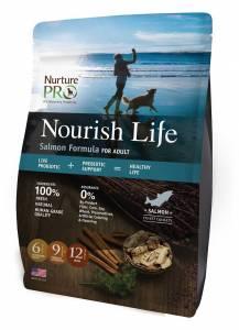 Nurture Pro Nourish Life Salmon Formula For Adult - Dry Dog Food-(NLSALAD)