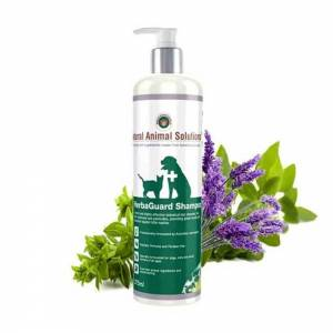 Natural Animal Solutions HerbaGuard Shampoo For Dogs, Cats & Small Animals-(D115-5781)