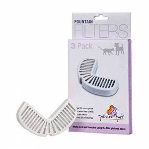 Pioneer FOUNTAIN REPLACEMENT FILTERS For SS & Ceramic Fountains-(D102-1155)