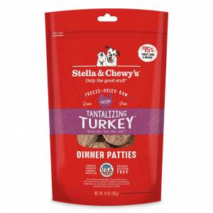 Stella & Chewy's Tantalizing Turkey Dinner Patties for Dogs-(D100-7025)