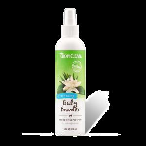 Tropiclean Baby Powder Deodorizing Pet Spray-(TRSpray-06)