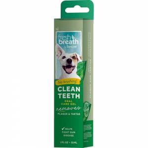 Tropiclean Fresh Breath Clean Teeth Gel 2 Fl oz (59 ml)-(TroFBGel2)