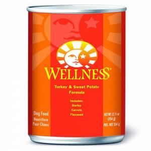 Wellness Complete Health Turkey & Sweet Potato - Wet Canned Dog Food-(D100-2088)