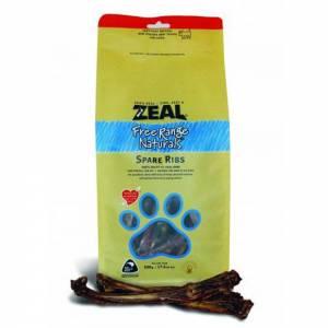 Zeal Free Range Naturals Dried Spare Ribs - Dog Treats-(ZFRDSR)