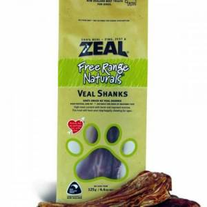 Zeal Free Range Naturals Dried Veal Shanks - Dog Treats, Pack Of 3 At Price Of 2-(ZVS01-K3)