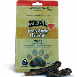 Zeal Free Range Naturals Dried Wags - Dog Treats-(ZWAGS003)
