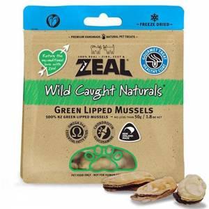 Zeal Free Range Naturals Zeal Green Lipped Mussels Freeze-Dried Cat Treats 50g-(ZCDP04)