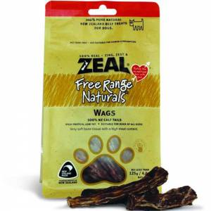 Zeal Free Range Naturals Dried Wags - Dog Treats, Pack Of 3 At Price Of 2-(ZWAGS003-K3)