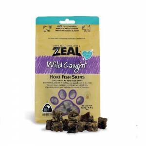 Zeal Wild Caught Dried Hoki Fish Skins - Treats For Dogs & Cats-(ZHFS01)
