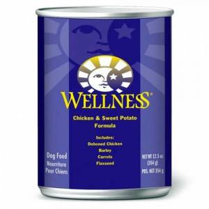Wellness Complete Health Chicken & Sweet Potato - Wet Canned Dog Food-(D100-2084)