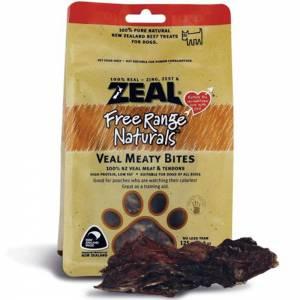 Zeal Free Range Naturals Dried Veal Meaty Bites - Dog Treats-(ZVMB01)