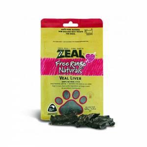 Zeal Free Range Naturals Dried Veal Liver - Dog Treats-(ZDVL04)